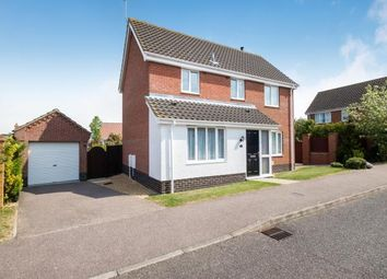 Thumbnail 3 bed detached house for sale in Worlingham, Beccles, Suffolk