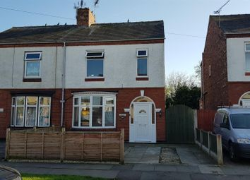 Thumbnail 3 bed semi-detached house for sale in Singleton Avenue, Crewe, Cheshire