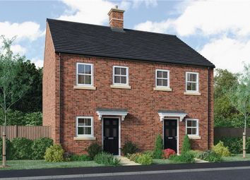 "Thumbnail 2 bed mews house for sale in ""Burroughs"" at Warwick Road, Banbury"