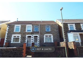 Thumbnail 2 bed semi-detached house to rent in Mill Road, Caerphilly