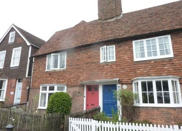 Thumbnail 3 bed property to rent in High Street, Cranbrook, Kent