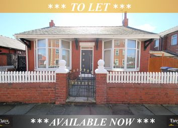 Thumbnail 2 bed detached bungalow to rent in Harcourt Road, Blackpool, Lancashire