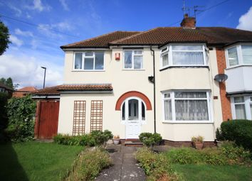 Thumbnail 4 bedroom semi-detached house for sale in Upper Meadow Road, Quinton, Birmingham