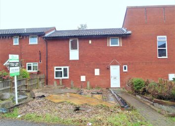 Thumbnail 3 bed town house to rent in Crossfell, Tamworth
