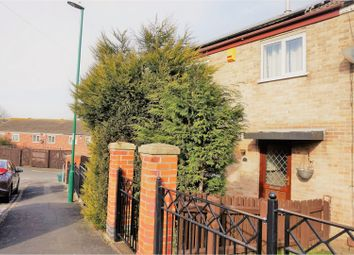 Thumbnail 3 bed end terrace house for sale in Oakham Close, Top Valley