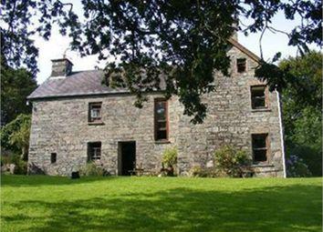 Thumbnail 7 bed detached house for sale in Pontygafel Farm House, Glandwr, Whitland, Pembrokeshire