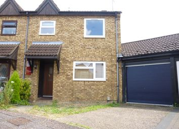 Thumbnail 2 bed semi-detached house to rent in Linnet, Orton Wistow, Peterborough.