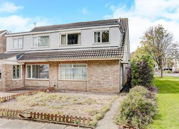Thumbnail 3 bed semi-detached house for sale in Ashford Close, Blyth