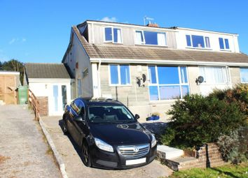Thumbnail 4 bed semi-detached house for sale in St. Edward Gardens, Eggbuckland, Plymouth