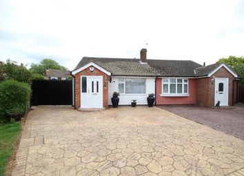 Thumbnail 2 bed semi-detached bungalow for sale in Welbeck Close, Trimley St Mary, Felixstowe