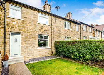 Thumbnail 3 bed terraced house for sale in Hall Cross Road, Lowerhouses, Huddersfield