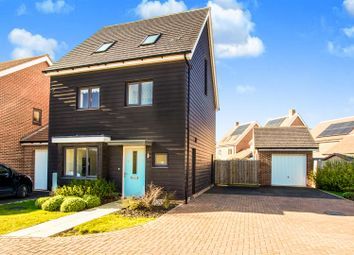 Thumbnail 4 bed detached house for sale in Spitfire Road, Upper Cambourne, Cambridge