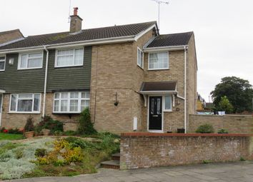 Thumbnail 4 bedroom end terrace house for sale in Holgate Drive, Luton