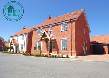 Thumbnail 4 bedroom property for sale in Plot 14 The Holkham, Springfield Grange, Acle