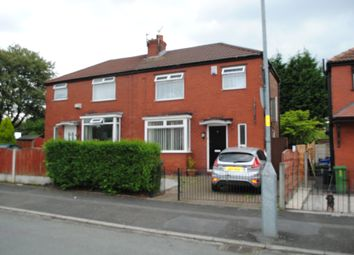 Thumbnail 3 bed semi-detached house to rent in Ashdale Crescent, Droylsden, Manchester
