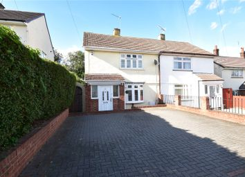 Thumbnail 2 bed semi-detached house for sale in Almond Road, Stone, Kent