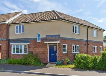 Thumbnail 3 bed terraced house for sale in Dr Torrens Way, New Costessey, Norwich