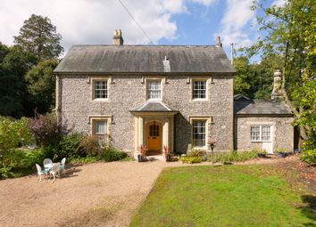 Thumbnail 5 bed link-detached house for sale in Manor Lodge Road, Rowland's Castle