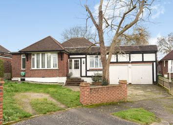 Thumbnail 3 bedroom detached bungalow for sale in Preston Drive, Ewell, Epsom