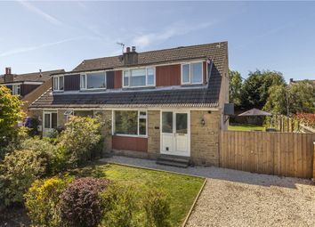 Thumbnail 3 bed semi-detached house for sale in Farr Royd, Burley In Wharfedale, Ilkley, West Yorkshire