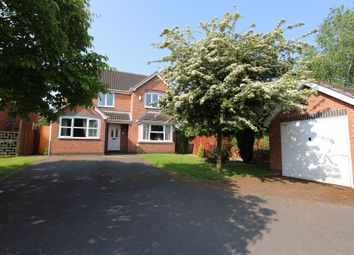 Thumbnail 4 bed detached house to rent in Kew Gardens, Nuthall, Nottingham