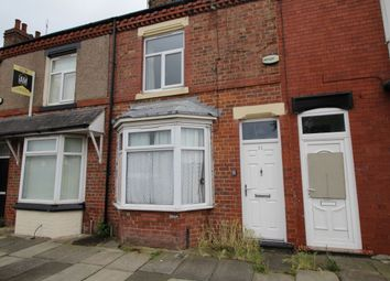 Thumbnail 2 bedroom terraced house for sale in Victoria Street, South Bank, Middlesbrough