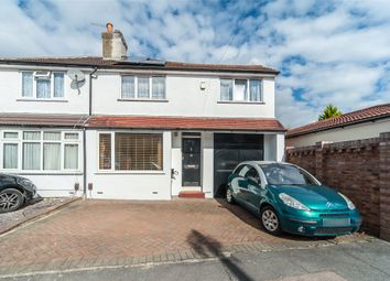 Thumbnail 4 bed semi-detached house for sale in Olron Crescent, Bexleyheath, Kent