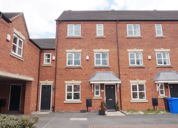 Thumbnail Town house for sale in Blakeholme Court, Burton-On-Trent