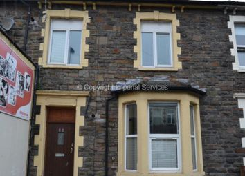 Thumbnail 2 bed flat to rent in Woodville Road, Cardiff