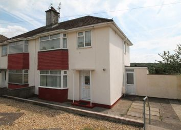 Thumbnail 3 bed semi-detached house to rent in Heol Miles, Talbot Green CF728Hu