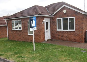 Thumbnail 2 bed detached bungalow to rent in James Close, New Ollerton, Newark, Nottinghamshire
