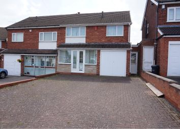 Thumbnail 3 bed semi-detached house for sale in Baker House Grove, Great Barr, Birmingham