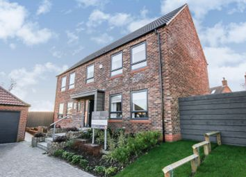 Thumbnail 4 bed detached house for sale in Hawfinch Meadows, Retford