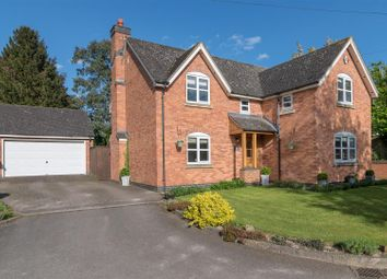 Thumbnail 4 bed detached house for sale in Brook Lane, Peckleton, Leicester