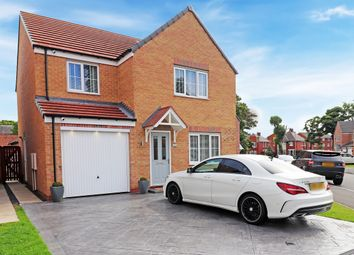 Thumbnail 4 bed detached house for sale in Robinson Close, Hartlepool