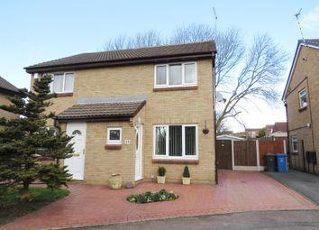 Thumbnail 2 bed semi-detached house for sale in Swinderby Drive, Oakwood, Derby