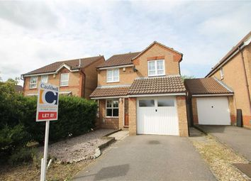 Thumbnail 3 bed detached house to rent in Wardle Place, Oldbrook, Milton Keynes