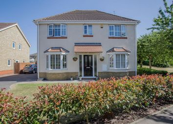 Thumbnail 4 bed detached house for sale in Telford Drive, Yaxley, Peterborough, Cambridgeshire.
