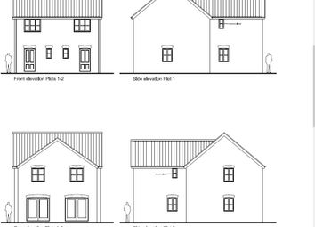 Thumbnail 2 bed semi-detached house for sale in School Road, Reepham, Norwich