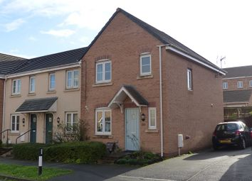 Thumbnail 3 bed end terrace house for sale in Kingfisher Road, North Cornelly, Bridgend, Bridgend County.