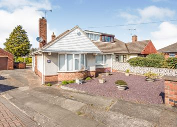 Thumbnail 2 bedroom semi-detached bungalow for sale in Dewsbury Avenue, Scunthorpe