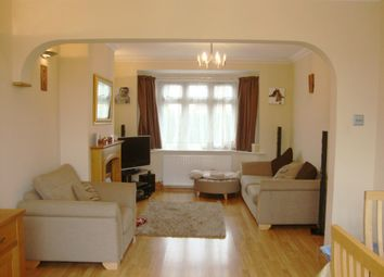 Thumbnail 3 bed semi-detached house to rent in Woodcroft Crescent, Hillingdon