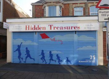 Thumbnail Retail premises for sale in High Street, Burnham-On-Sea