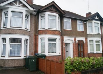 Thumbnail 3 bedroom terraced house to rent in Burnaby Road, Coventry