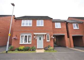 Thumbnail 4 bedroom detached house for sale in Coronet Drive, Ibstock, Coalville
