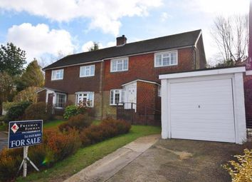Thumbnail 3 bed semi-detached house for sale in Mill Close, Heathfield, East Sussex