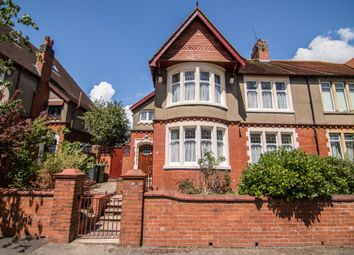 Thumbnail 4 bedroom semi-detached house for sale in Dorchester Avenue, Penylan, Cardiff