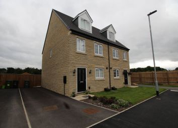 Thumbnail 3 bed semi-detached house for sale in Blacksmith Way, Lindley, Huddersfield, West Yorkshire