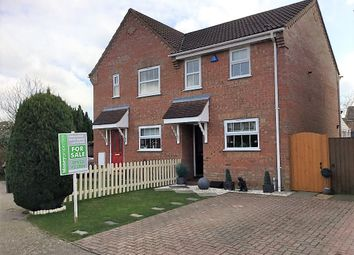 Thumbnail 2 bed semi-detached house for sale in Sorrel Drive, Attleborough
