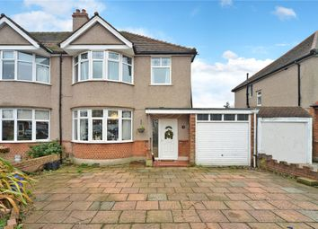 Thumbnail 3 bed semi-detached house to rent in Ebbisham Road, Worcester Park